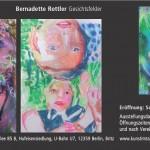 Rückseite Einladung Kopf und Werk - Bernadette Rottler